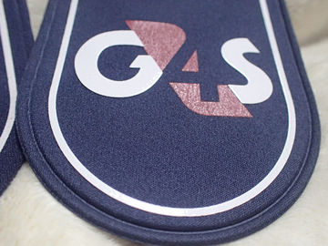 Shine And Soft Silicone Rubber Labels Printed On Military Clothing Shoulders
